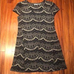 Kimchi Blue, Black/cream dress, size Large